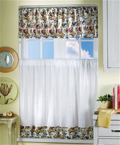 Chicken Kitchen Curtains Rooster Farm Chicken Country Kitchen Valance Curtainebay Kitchen Drawer Slides