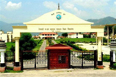 Government In Uttarakhand For Mba by Hemwati Nandan Bahuguna Garhwal Garhwal