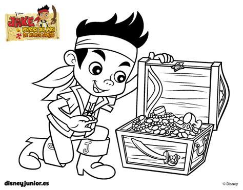 dibujos para pintar jake y los piratas dibujo de jake y los piratas de nunca jam 225 s tesoro para