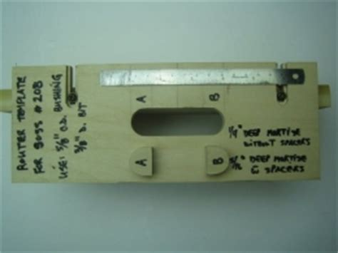 hinge template router soss hinge router template homemadetools net