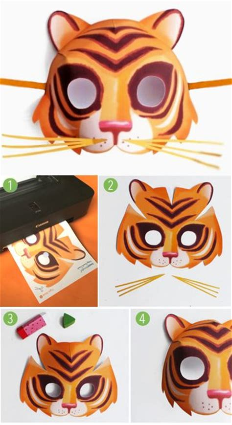 1000 ideas about tiger mask on pinterest animal masks