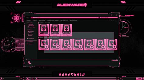 eclipse theme pack alienware 174 eclipse pink premium theme for windows 174 se7en