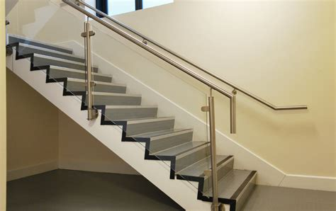 Commercial L Posts by Commercial Staircases Gallery Galleries Railing