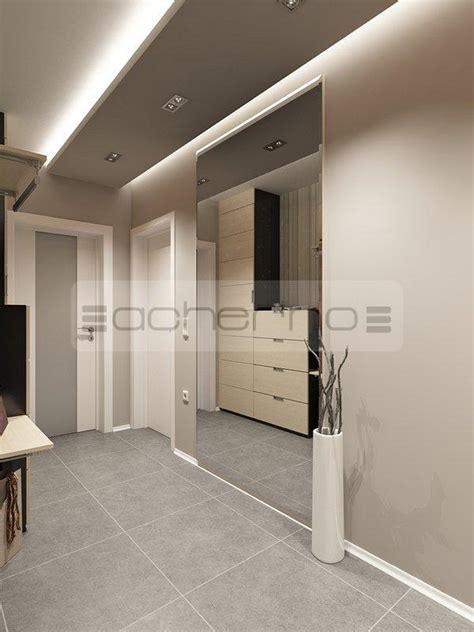 acherno modernes wohnung design in frischen farben - Wohnideen Eingangsbereich