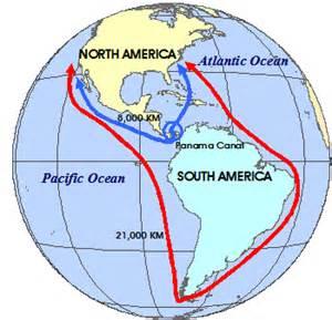 Panama Canal On World Map by World History Map Panama Canal Mrunal Org Flickr