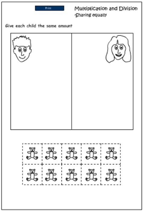printable division games ks1 ks1 division by sharing worksheets printable division
