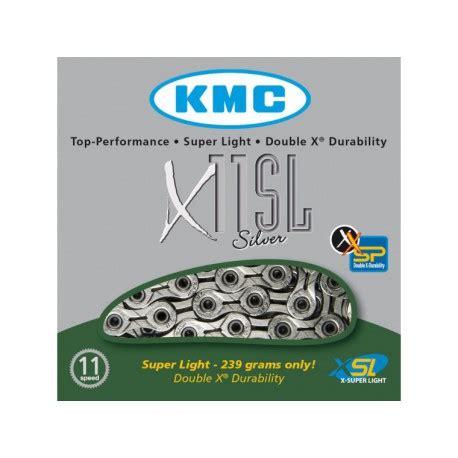 cadena kmc x11 1 cadena kmc x11 sl 11 velocidades silver