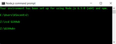 node js command line tutorial cmd change directory in node js command prompt stack