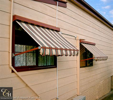 awning spring cbell heeps pivot swing arm awnings