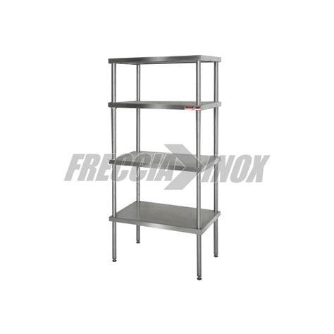 scaffale acciaio scaffale in acciaio inox l1000 p400 frecciainox