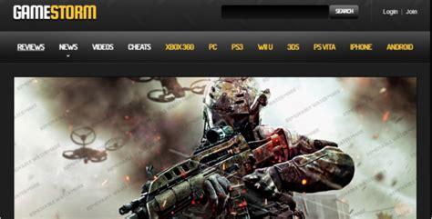30 Best Gaming Website Templates Free Premium Themes Gaming Community Website Templates