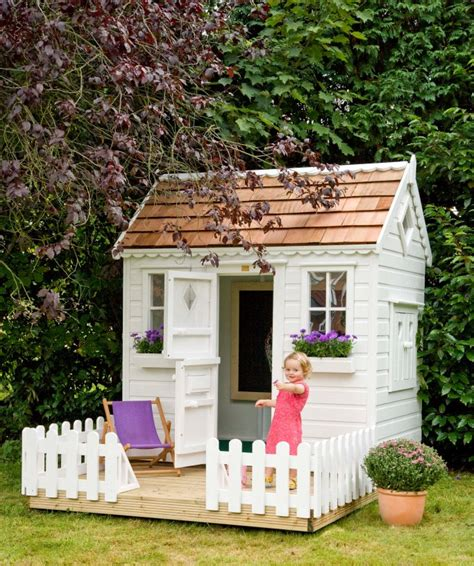 Garden Playhouse by Garden Playhouse With Fencing Playhouses The Playhouse