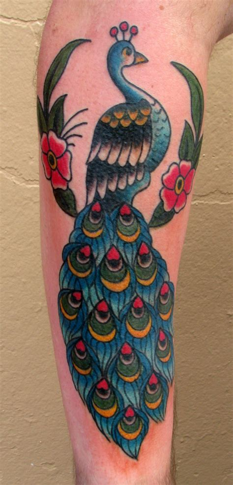 traditional peacock tattoo obryadii00 traditional flash sailor jerry