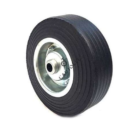 rubber st wheel wide wheel 300 mm diameter with 25 mm bearings