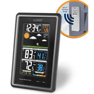 la crosse wireless color weather station la crosse wireless color weather station new 2014 model