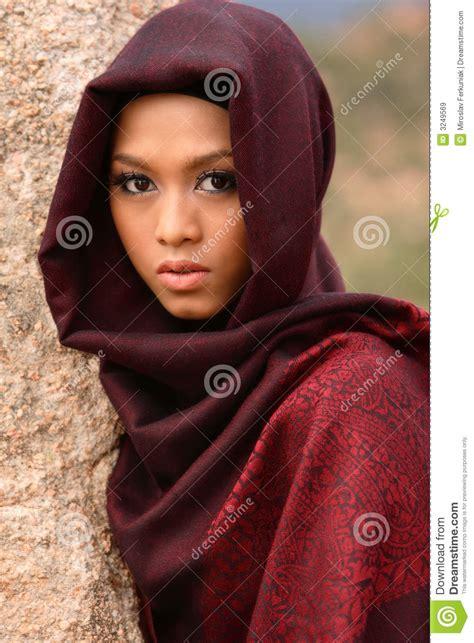 muslim girl royalty  stock images image