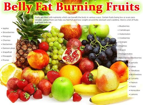 5 vegetables that burn belly fruits