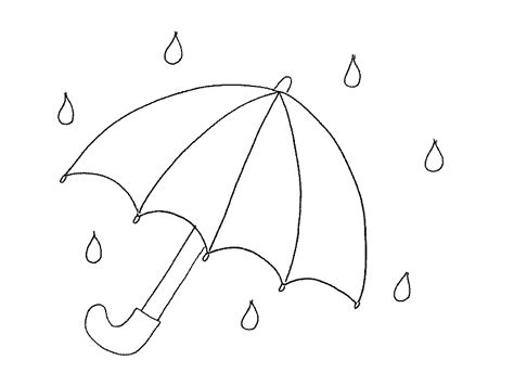 printable coloring pages umbrella free umbrellas in the rain coloring pages