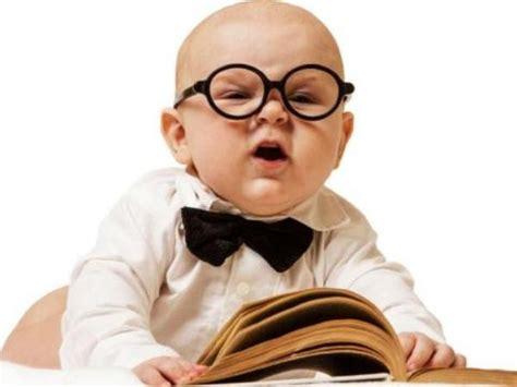 imagenes de bebes inteligentes la inteligencia de los bebes es superior a lo que se