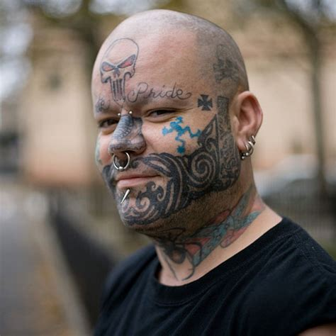 gang face tattoos 30 best tattoos creativefan