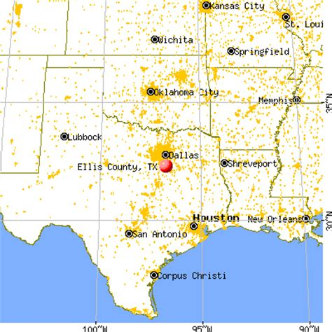 ellis county texas map ellis county texas detailed profile houses real estate cost of living wages work
