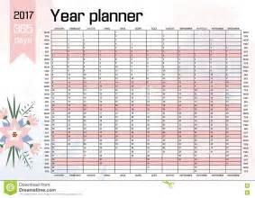 Whole Year Calendar Template by Year Wall Planner Plan Out Your Whole With This 2017