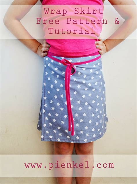 wrap skirt sewing pattern free patterns sew wrap skirt pattern and tutorial pienkel create
