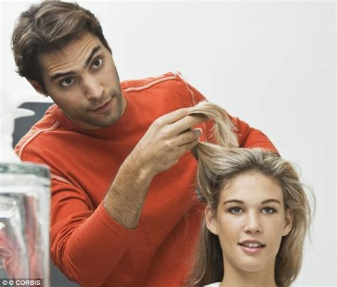 wives cutting hair short for husbands husband hair cuts which of these women spends 163 1 000