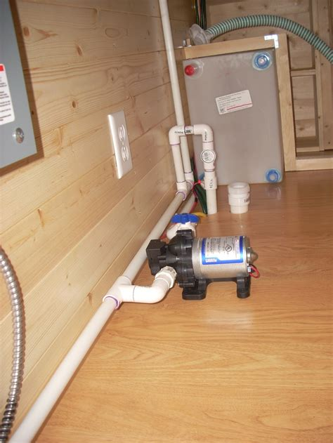 Plumbing Tiny House by Another Plumbing View 2 Tiny House On Wheels