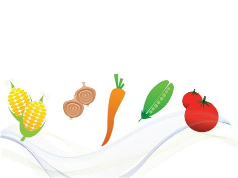 vegetables foods template ppt backgrounds foods drinks