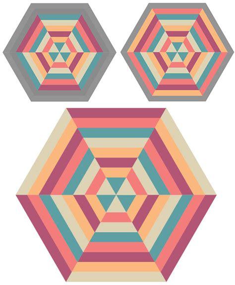 adobe illustrator hexagon pattern how to create a blended hexagonal print design in adobe