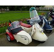 Heinkel Tourist Scooter With Sidecar From The Company