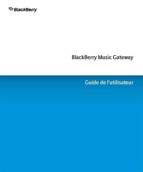 Notice Blackberry Music Gateway T 233 L 233 Phone Portable