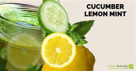 Lemon Cucumber Mint Detox by Home Remedies For All