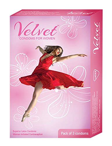 compare buy velvet condoms  female   india