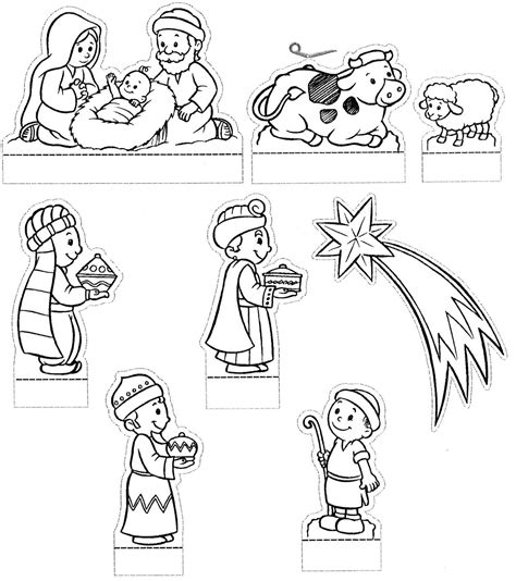 printable christmas belen godsdienst on pinterest nativity kerst and baby moses