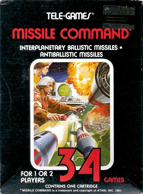 missile command the atari 2600 journal books missile command for atari 2600 1981 mobygames
