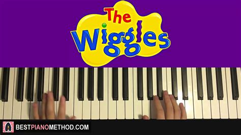 piano tutorial wiggle how to play the wiggles get ready to wiggle theme