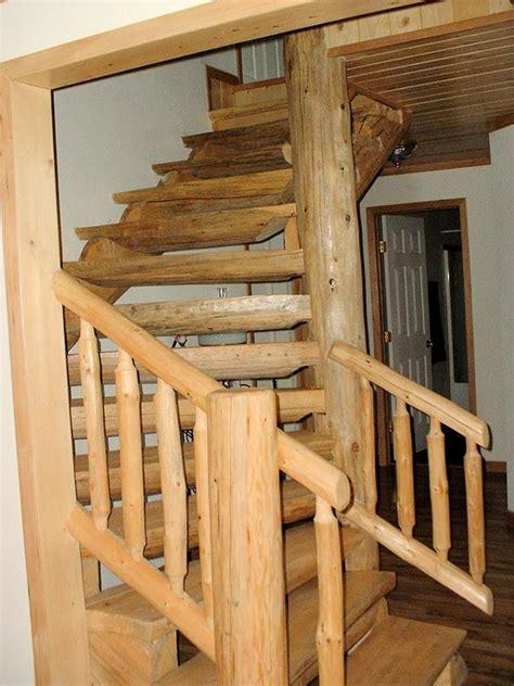 Log Cabin Design Staircases Railings
