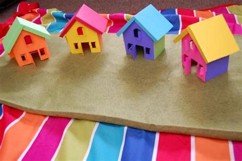 How To Make A Small Paper House - rainbow printable inner child