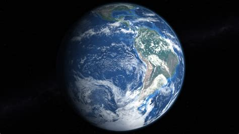 wallpaper earth rotation hemisphere seamless loop stock footage video 8686099