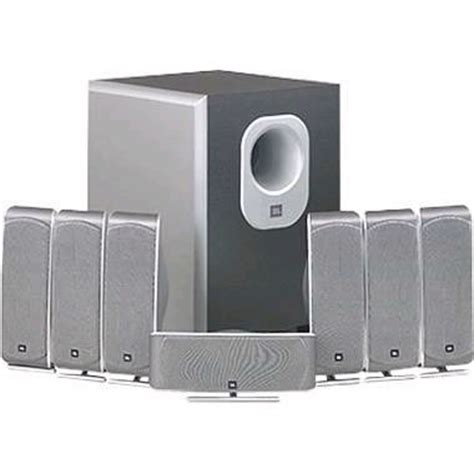 jbl scs300 7 7 1 channel home theater speaker system