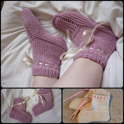 diy bed socks 20 diy slipper knitting patterns page 2 of 3