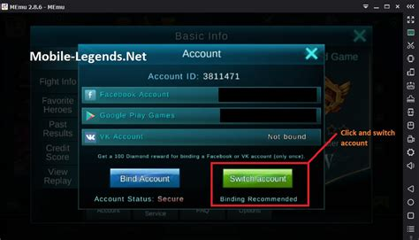 change mobile legend play on pc mobile legends 5 steps mobile legends