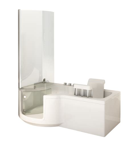 shower bath p shape baths with shower 1700 or 1500mm access uk