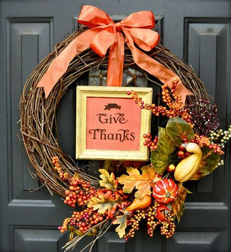 Diy Fall Wreaths Design Ideas 15 Creative Diy Projects For Thanksgiving