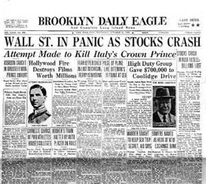 Fort Wayne Real Estate understanding the wall street stock market crash of 1929