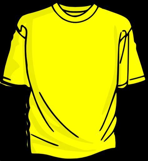 t shirt clip yellow shirt clipart clipart best