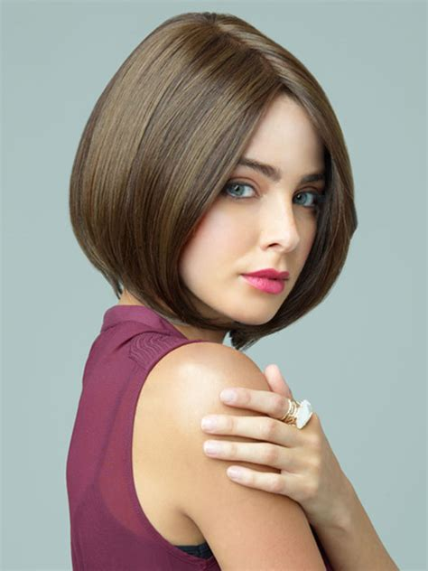 a line bob hairstyles for round faces best short and long hairstyle ideas for round faces