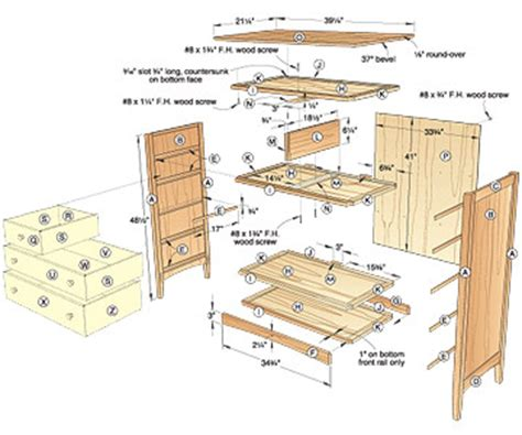 Bedroom Dresser Building Plans Plans For Dresser Free Woodworking Plans And Projects